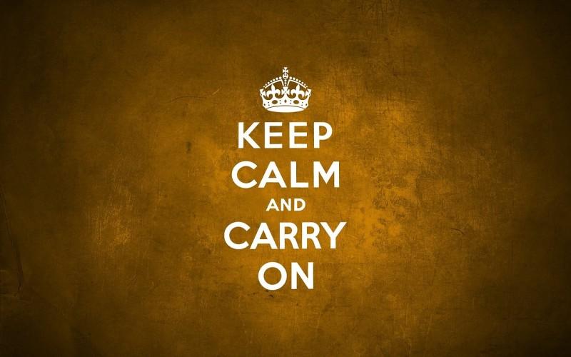 KeepCalmCarryOn